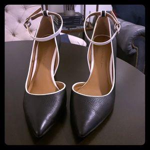 Banana Republic black heels.